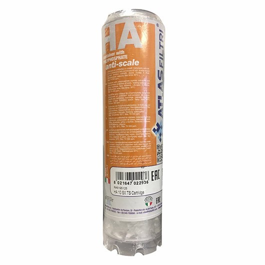 Anti limescale replacement filter